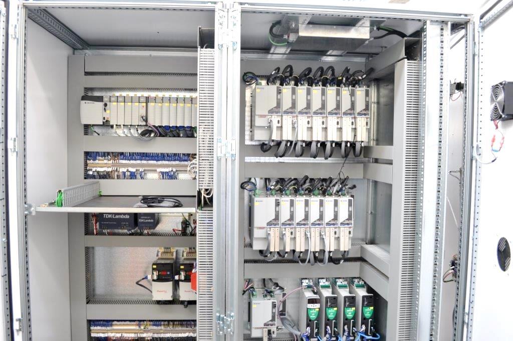 Schemi Elettrici Quadri Dab : Quadri elettrici gf automazioni